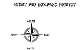 Map Skills : What are compass points?