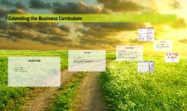 Copy of Extending the Business Curriculum