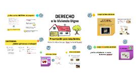 I: Derecho a la Vivienda Digna (Presentación para estudiantes)