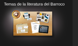 Temas de la literatura del Barroco