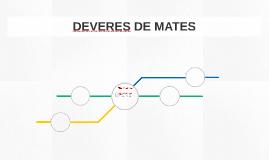 DEVERES DE MATES