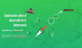 Exploración sobre el desarrollo de la democracia