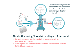 Involving Students in Grading and Assessment