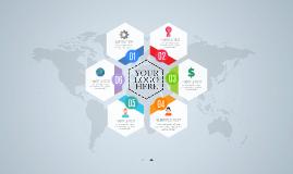 Cópia de Hexagon Infographic - Free Prezi Template
