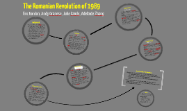 Copy of The Romanian Revolution of 1989