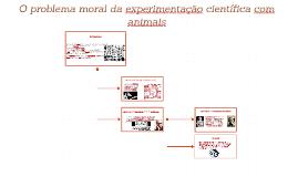 O problema moral da experimentação científica com animais