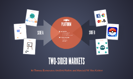 Two-sided Markets