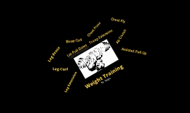 Copy of Weight Training
