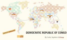 THE DEMOCRATIC OF CONGO