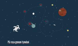 På resa genom rymden
