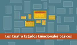 Copy of Los cuatro estados emocionales básicos