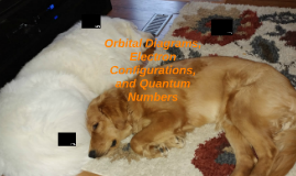 Orbital Diagrams, Electron Configurations, and Quantum Numbe
