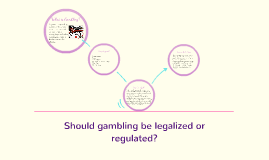 Should gambling be legalized or regulated?