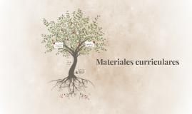 Material curricular