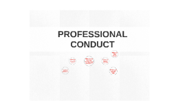 Professional Conduct (3 June 2015)