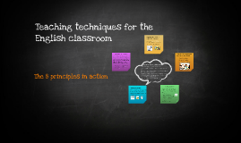 Techniques for the English Classroom