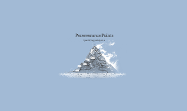 Perseverance Points