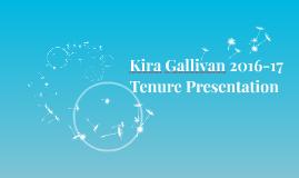Kira Gallivan 2016-17