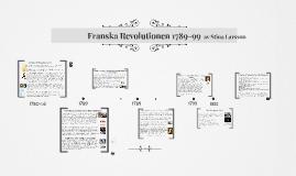 Franska Revolutionen 1789-99