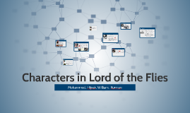 Copy of Characters in Lord of the Flies