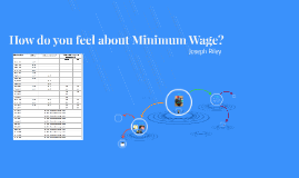 How do you feel about Minimum Wage?