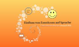 Einfluss von Emoticons auf Sprache