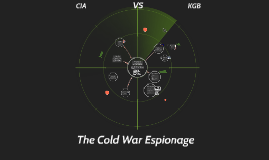 What role did espionage play during the cold war