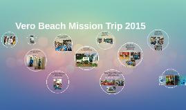Vero Beach Mission Trip 2015