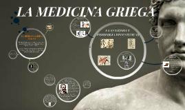 Copy of LA MEDICINA GRIEGA