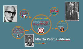 Alberto Calderon spanish version