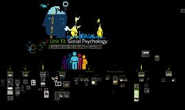 Unit 13: Social Psychology