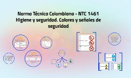 Norma Técnica Colombiana - NTC 1461