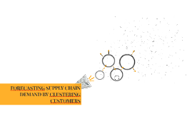 FORECASTING SUPPLY CHAIN DEMAND BY CLUSTERING CUSTOMERS