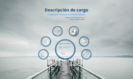 Descripcion de Cargo