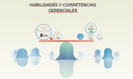 HABILIDADES Y COMPETENCIAS GERENCIALES