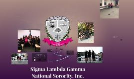 Sigma Lambda Gamma