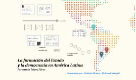 Copy of La formación del Estado y la democracia en América Latina - Fernando López Alves