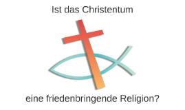Ist das Christentum