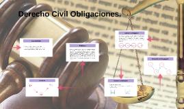 Derecho Civil Obligaciones.