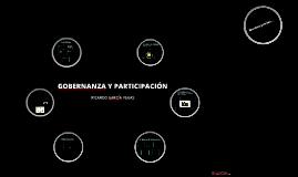 Gobernanza y participación