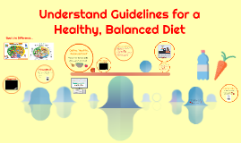 Understand Guidelines for a Healthy, Balanced Diet