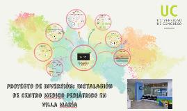 Copy of Proyecto de inversión: Instalación de Centro Medico Pediátri