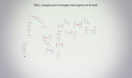 Copy of Diez  consejos para navegar mas seguro en la web