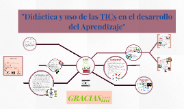 """""""Didáctica y uso de las TICs en el desarrollo del Aprendizaj"""