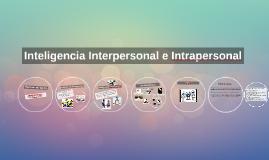 Inteligencia Interpersonal e Intrapersonal