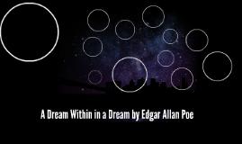 A Dream Within in a Dream by Edgar Allan Poe