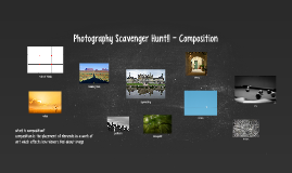 Photography Scavenger Hunt!!