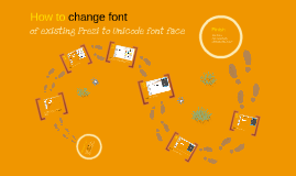How to change to international font in Prezi