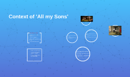 Copy of Context of 'All my Sons'