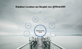 """Rotation Curation am Beispiel @WeareHH"""